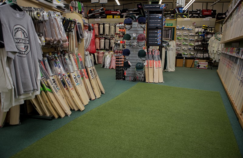 Make the step up with some new cricket equipment
